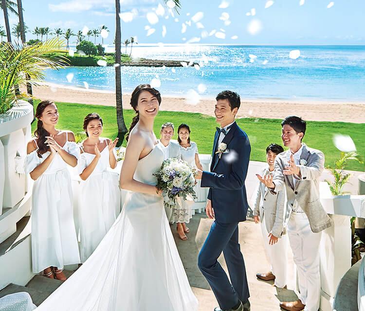 ハワイの結婚式場をお探しの方へ...